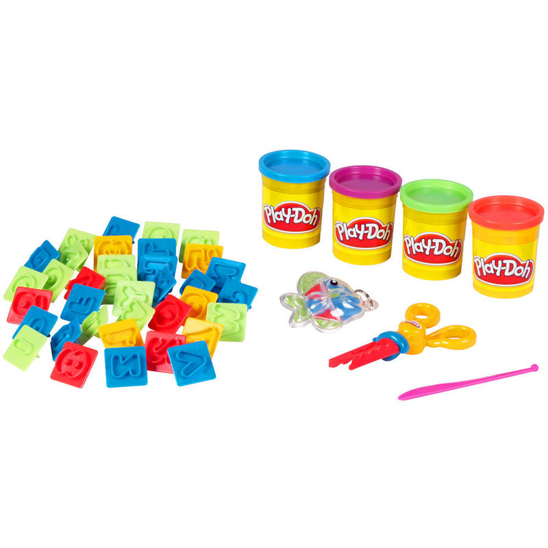 Playdoh Bag Back Pack With 520g Play Dough Tubs Modelling & Moulds New Preview