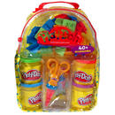 Playdoh Bag Back Pack With 520g Play Dough Tubs Modelling & Moulds New Thumbnail 4