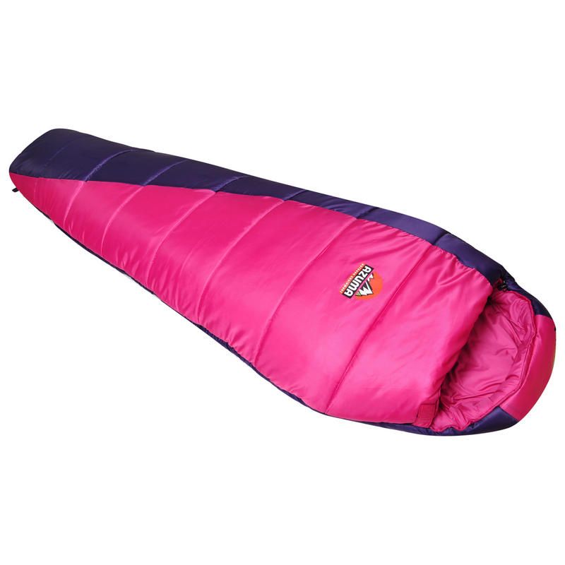 Azuma Pink / Purple Summer Festival Mummy Sleeping Bag ...