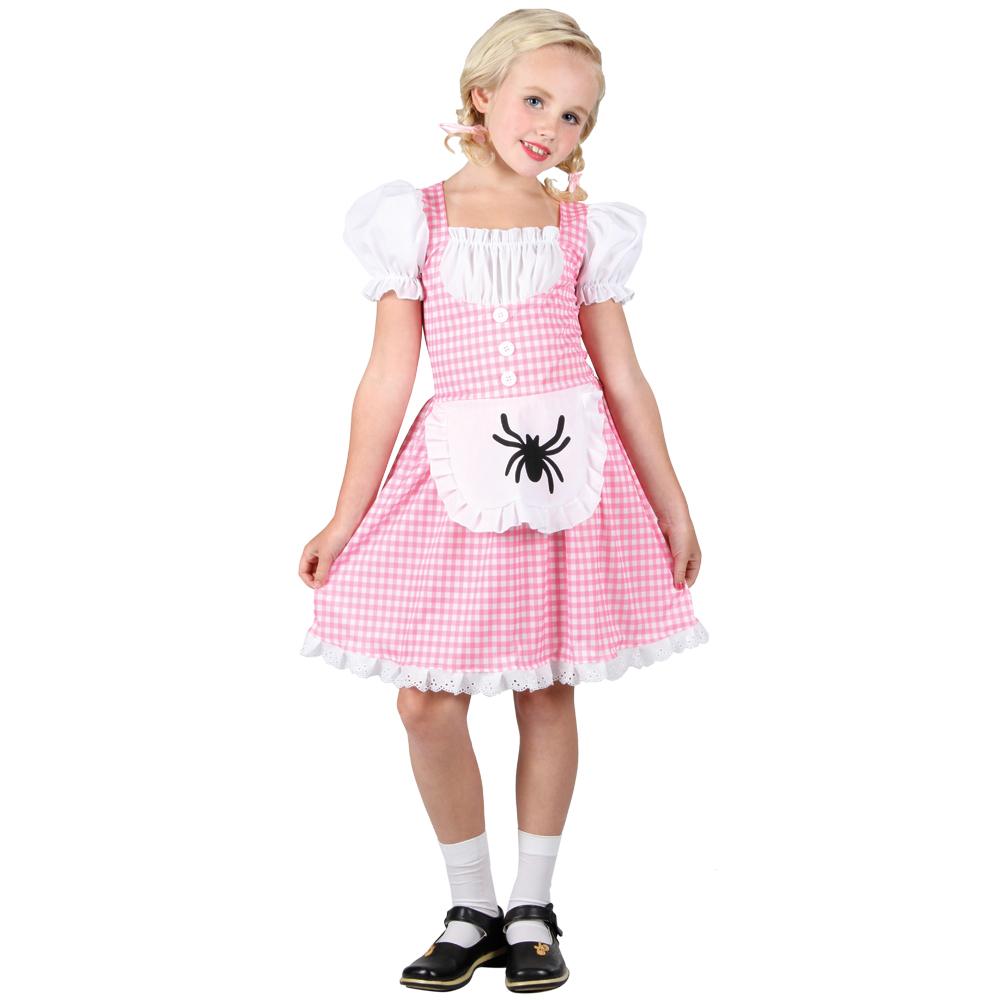 little miss muffet girls fancy dress up amp play costume ebay