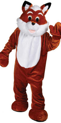 Foxy Fox Giant Mascot Fancy Dress Charity Events Promotions Costume