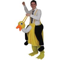 David Brent The Office Crazy Ostrich Fancy Dress Mascot Costume