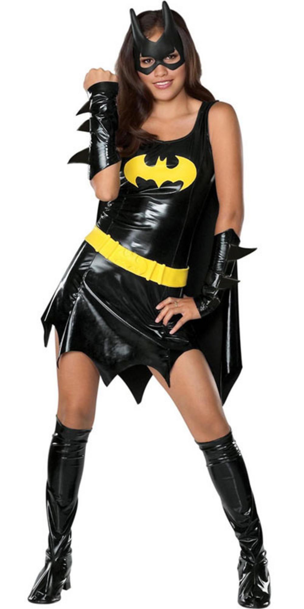 Sexy Batgirl Bat Girl Super Hero Teen Size Female Fancy ...