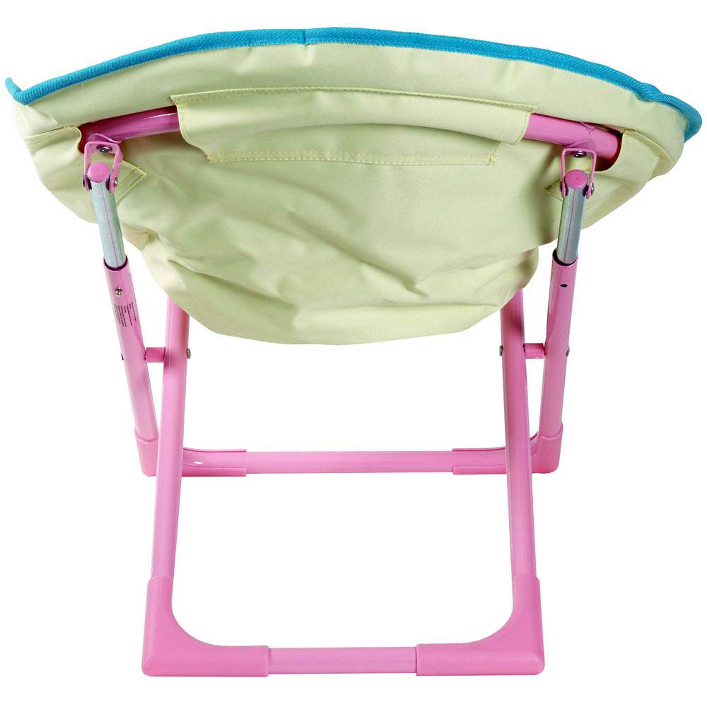 Kids Peppa Pig Folding Oval Moon Bucket Chair Seat New Ebay