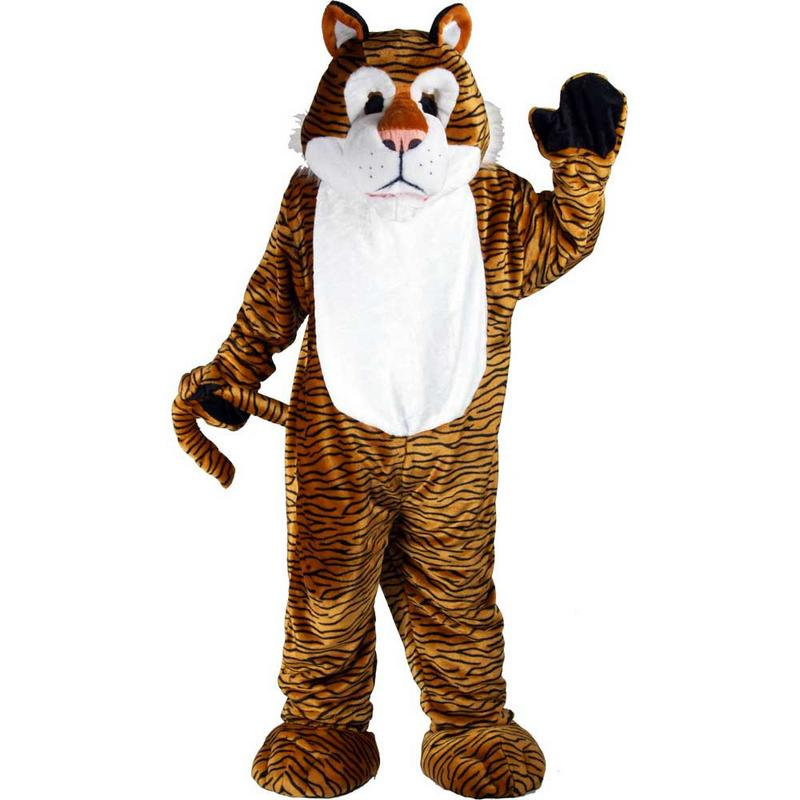 Fantastic Tigger Tiger Giant Full Body Mascot Fancy Dress Costume Preview
