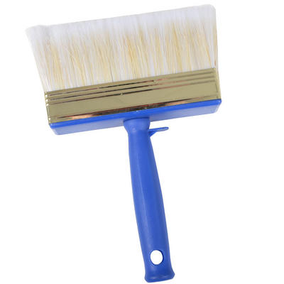 4cm x 14cm Block Paint Brush With Paint Pot Clip Hang Hole Decorating DIY