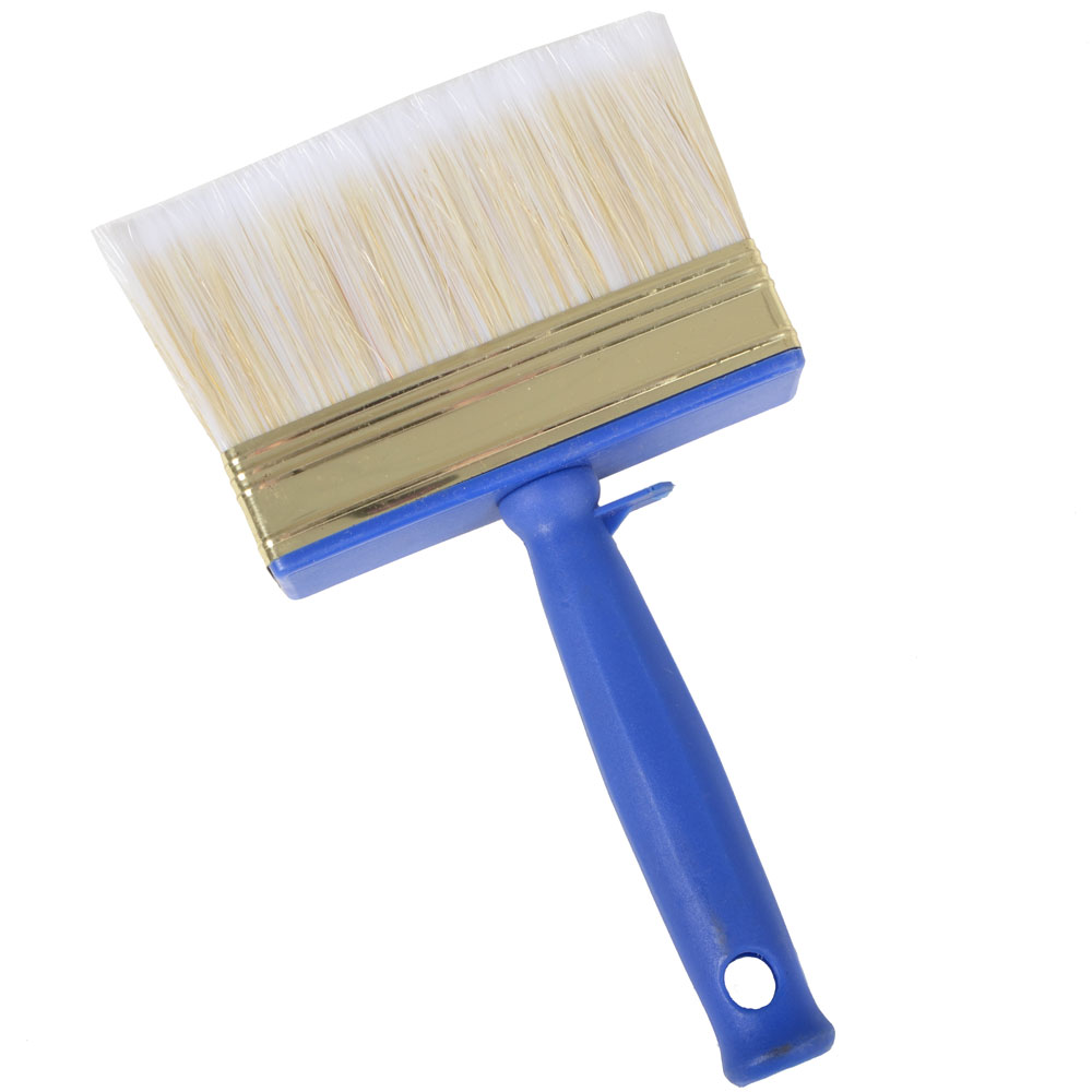 3cm x 12cm Block Paint Brush With Pot Clip Decorating