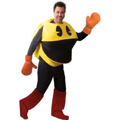 funny costumes for adults. Pac-Man costume for adults