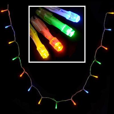 15 Battery Operated Multi Coloured LED Lights Lighting Christmas Festive Decoration New