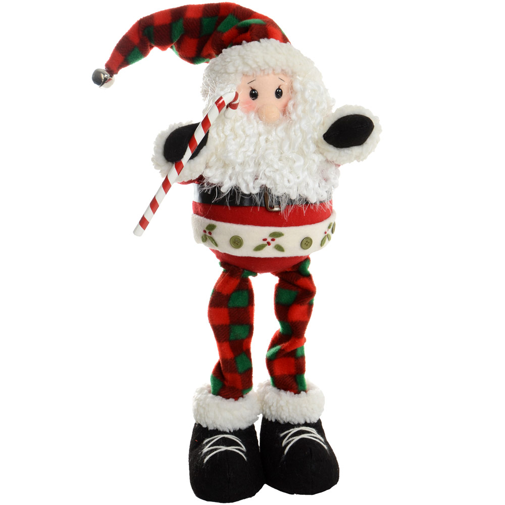 Santa Claus Decorations Uk: 47cm Novelty Festive Xmas Standing Santa Claus Christmas