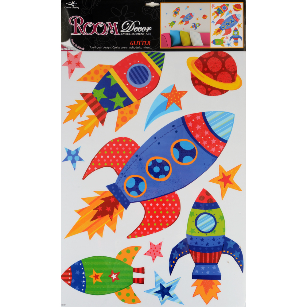 Bedroom Decor Stickers fantastic room wall decor stickers - butterflies dinosaurs cars