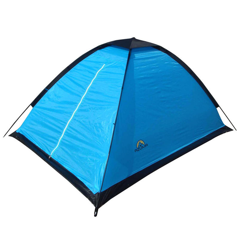 Brilliant Bright Blue Light Weight 2 Man Weekend Festival Camping Tent New Preview