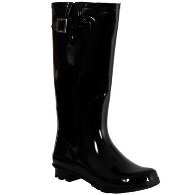 Womens Fashion Shoes Size on Ladies Funky Festival Fashion Wellies Wellington Boots High Gloss