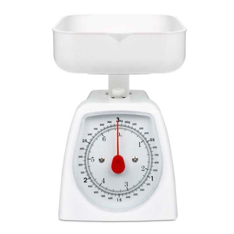 hanson h005 plastic mechanical kitchen weighing scales