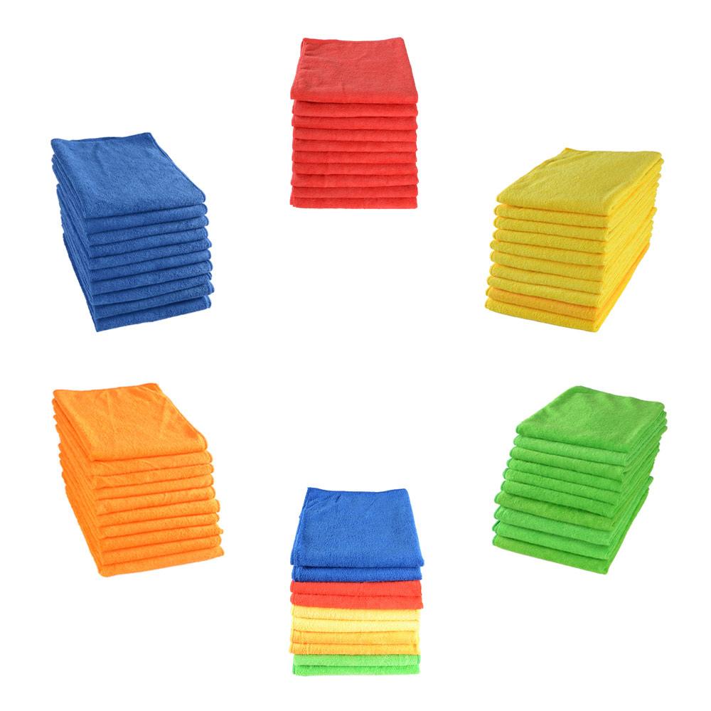 Microfiber Cloth Manufacturers Uk: MEGA DEAL 10 Micro-Pro Microfibre Micro Fibre Cleaning