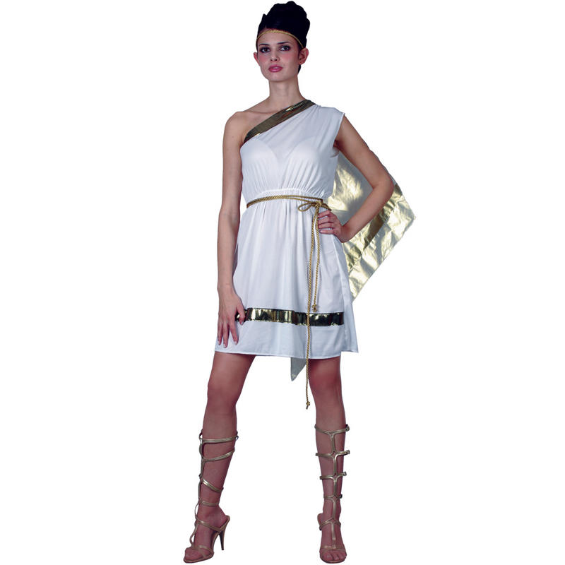 Greek Goddess Athena Aphrodite Ladies Sexy Fancy Dress Costume Preview