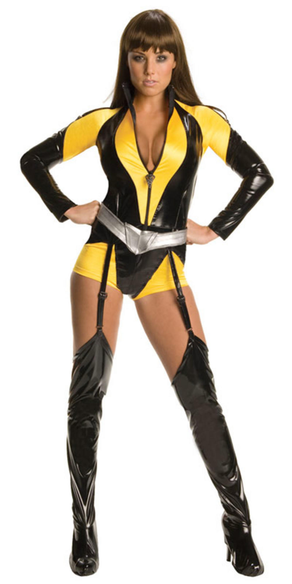 Sexy Secret Wishes Watchmen Silk Spectre Fancy Dress ...