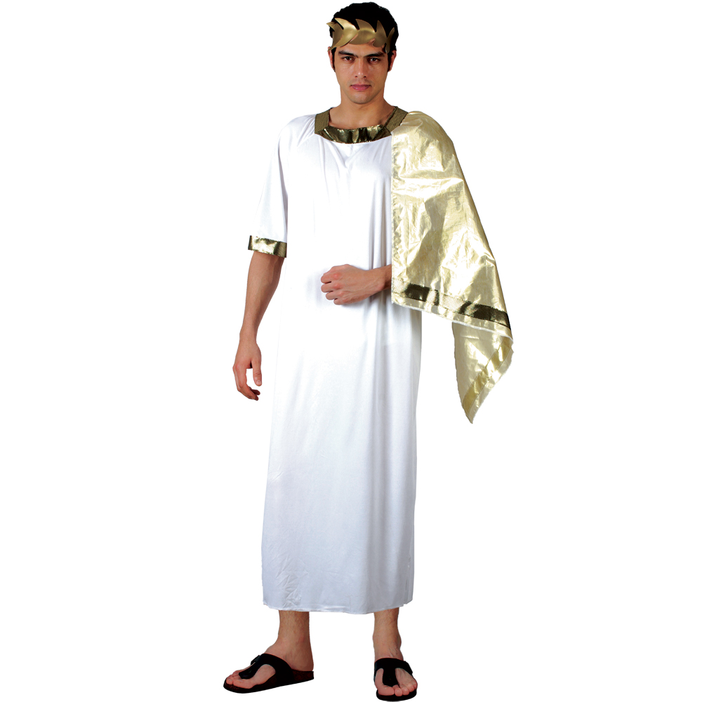 Ancient Roman Clothing For Men: Ancient Greek / Roman Fancy Dress Halloween Costume