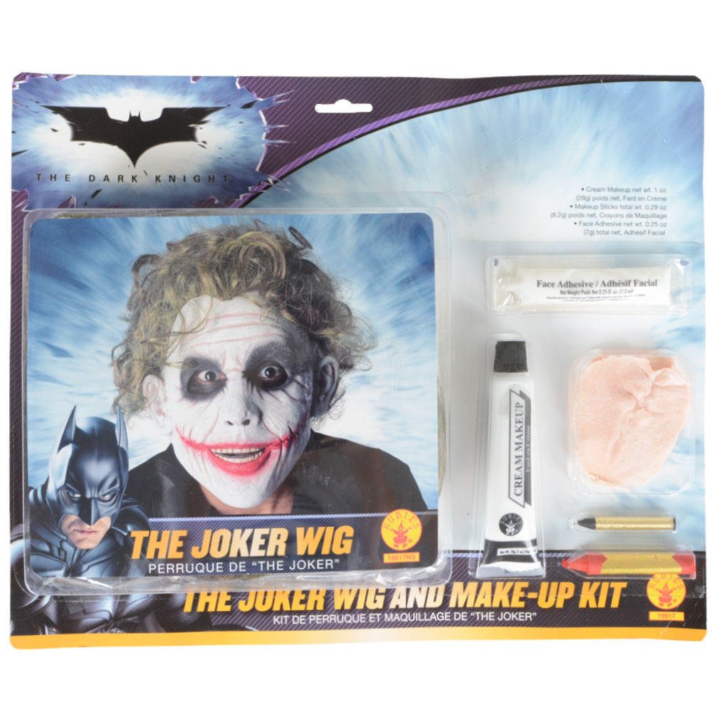 Joker Wig And Face Paint 98