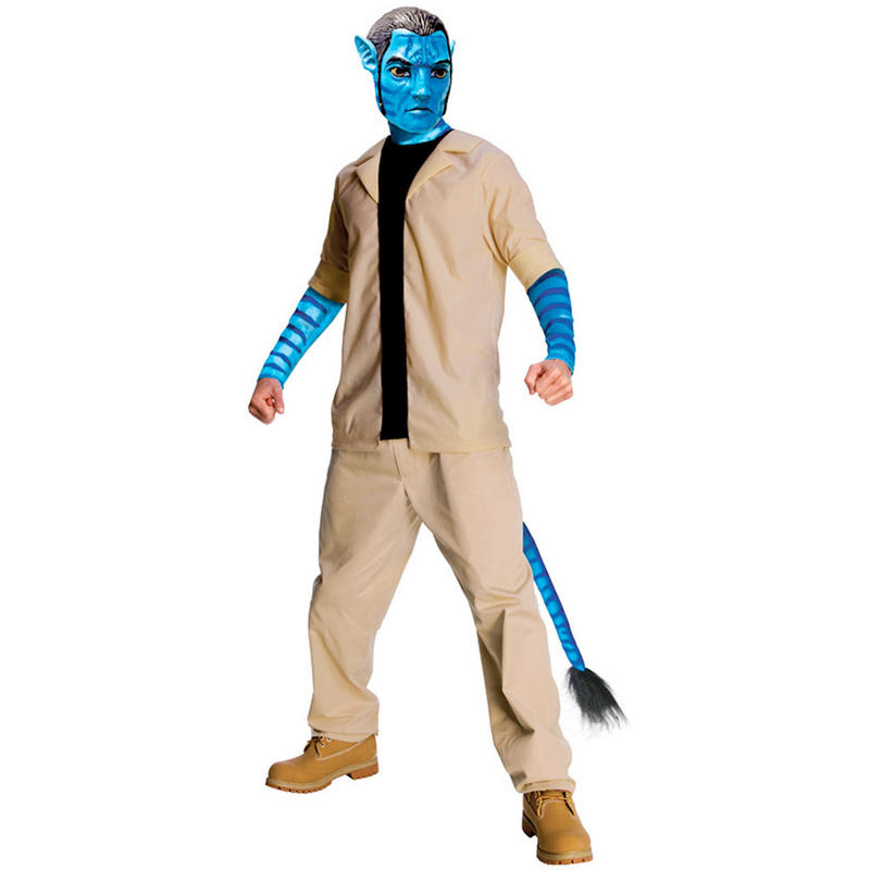 Jake Sully Avatar 2: Mens Jake Sully Avatar Movie Fancy Dress Halloween Party
