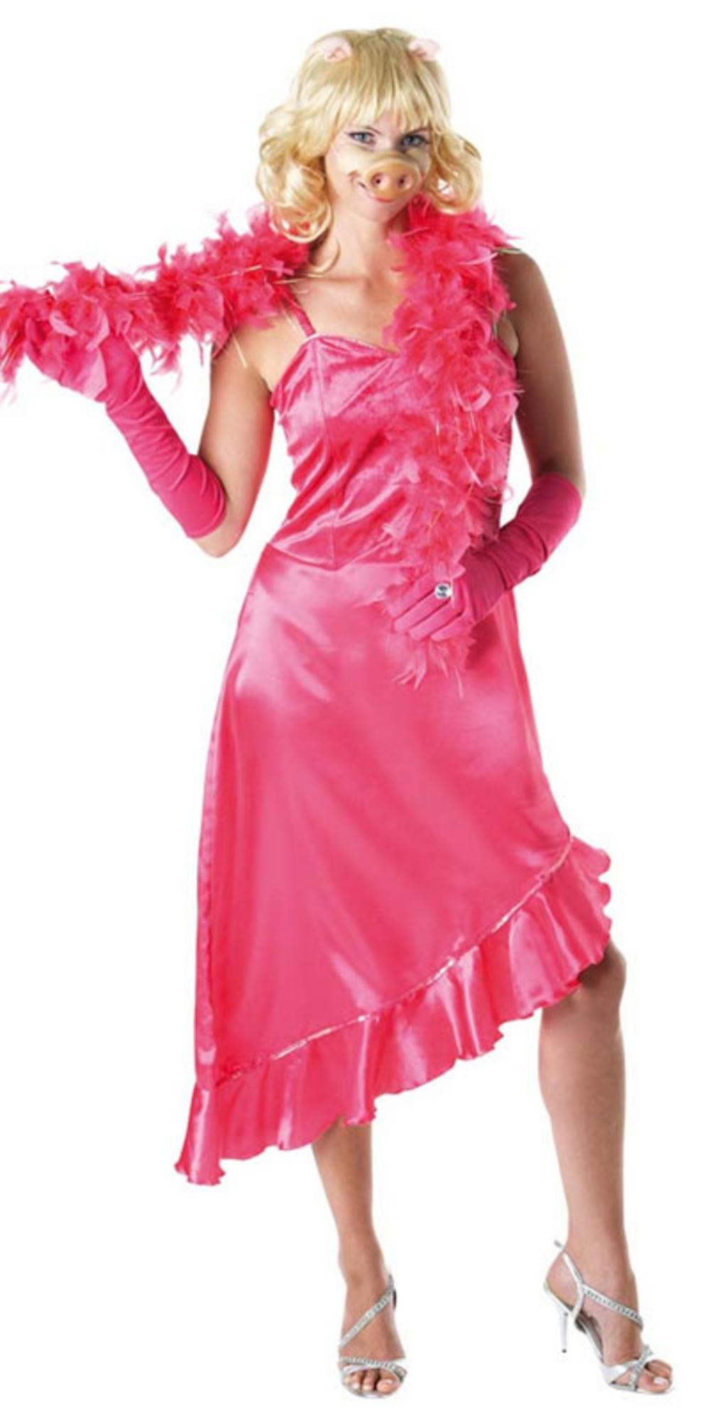 officially licensed miss piggy muppets fancy dress costume. Black Bedroom Furniture Sets. Home Design Ideas