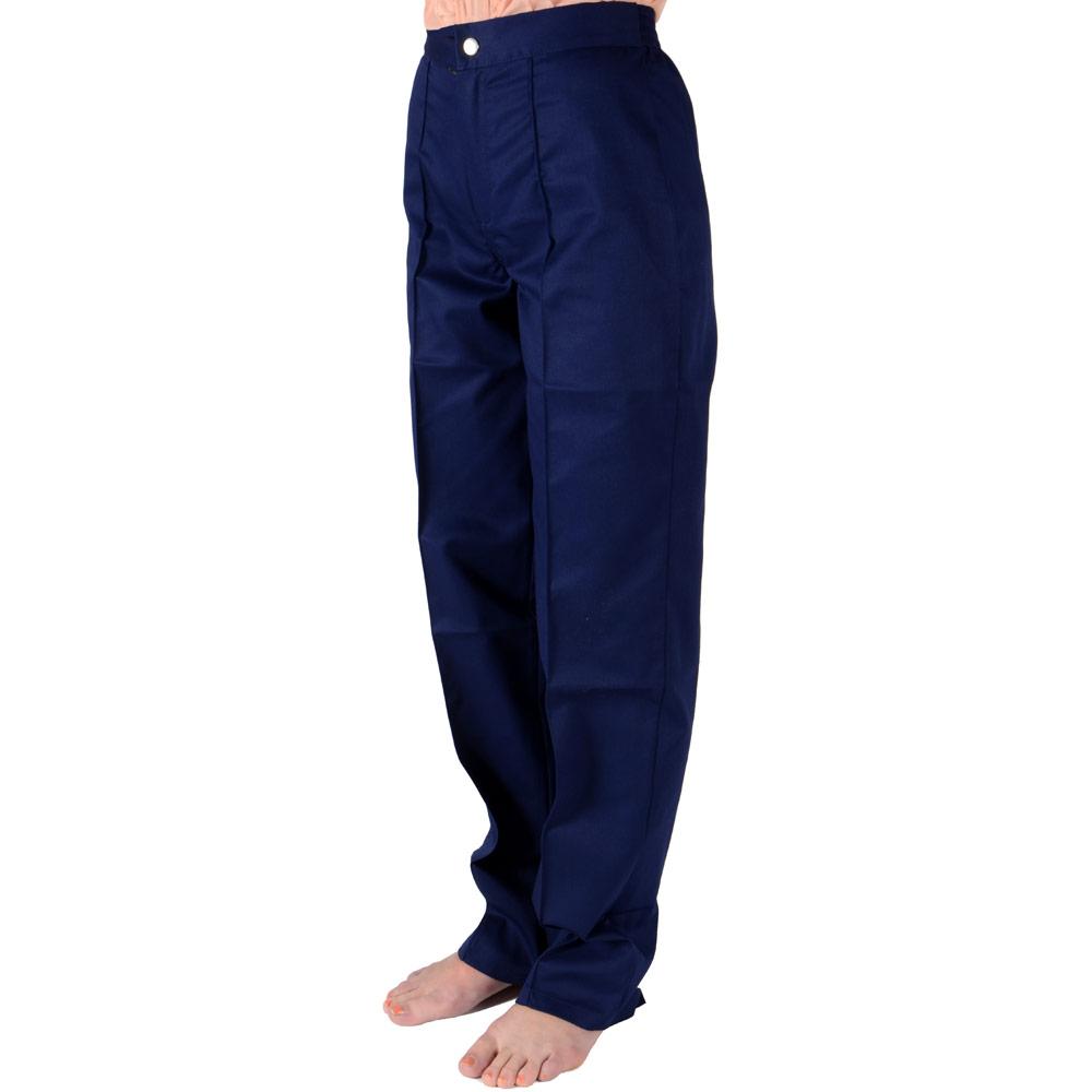 quality ladies navy nurse cleaner general work trousers ebay. Black Bedroom Furniture Sets. Home Design Ideas