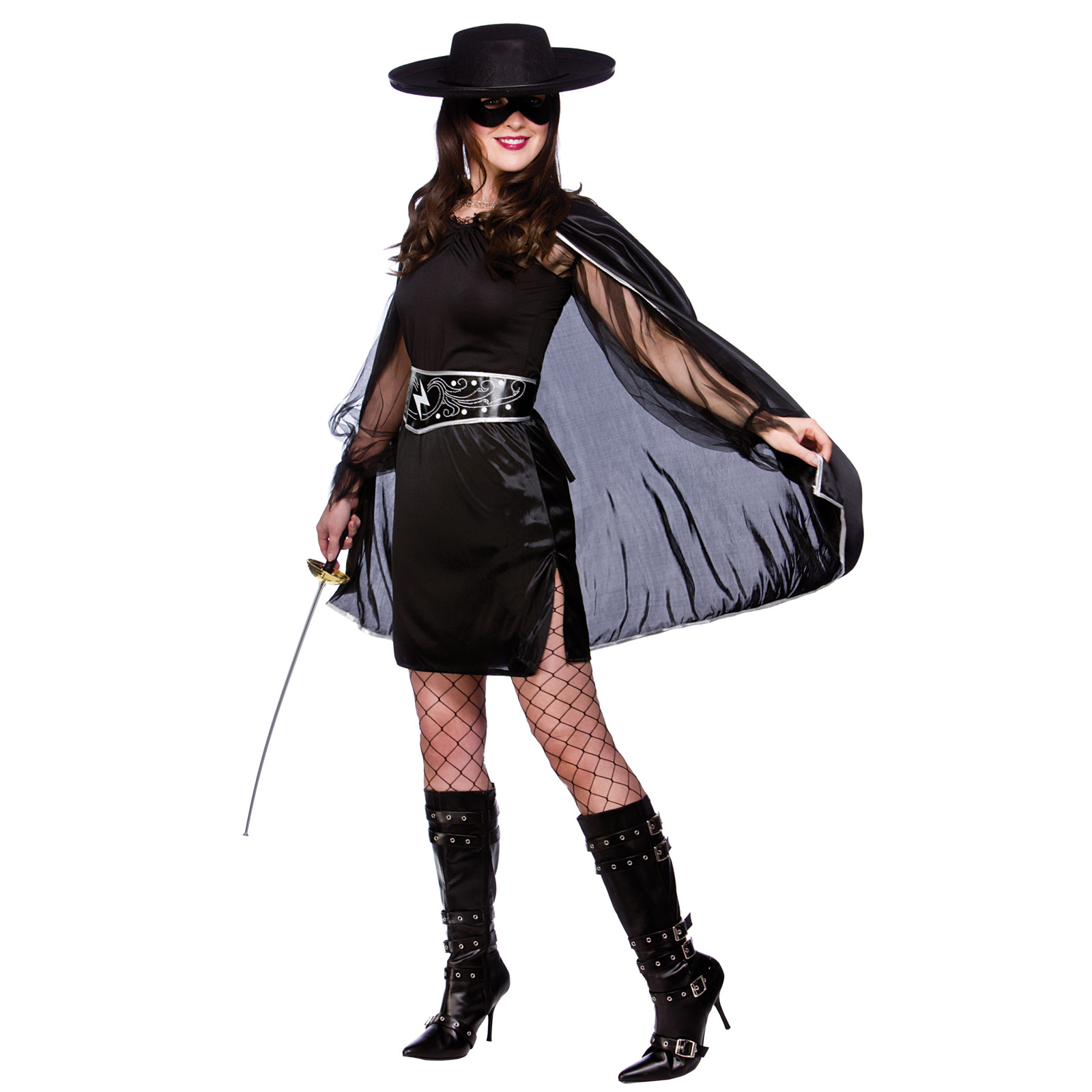 Womens Sexy Bandit Movie TV Film Character Fancy Dress