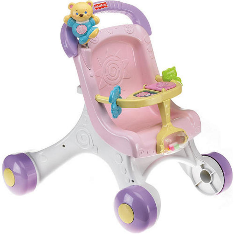 Fisher Price Brilliant Basics Stroll - Along First Musical ...