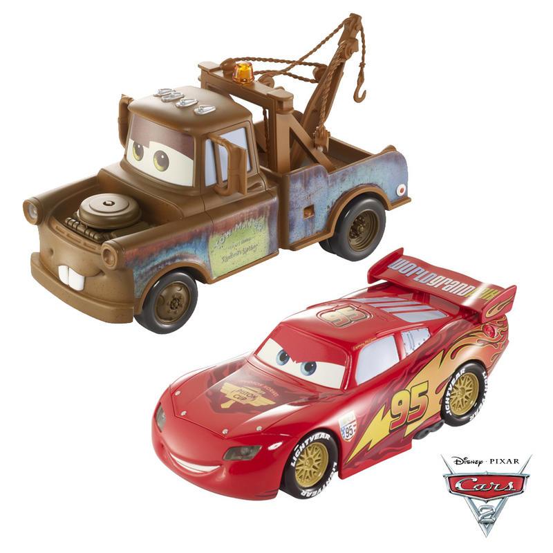 Cars 2 Lights Sounds Lightning: Disney Pixar Movie Lights And Sounds Lightning