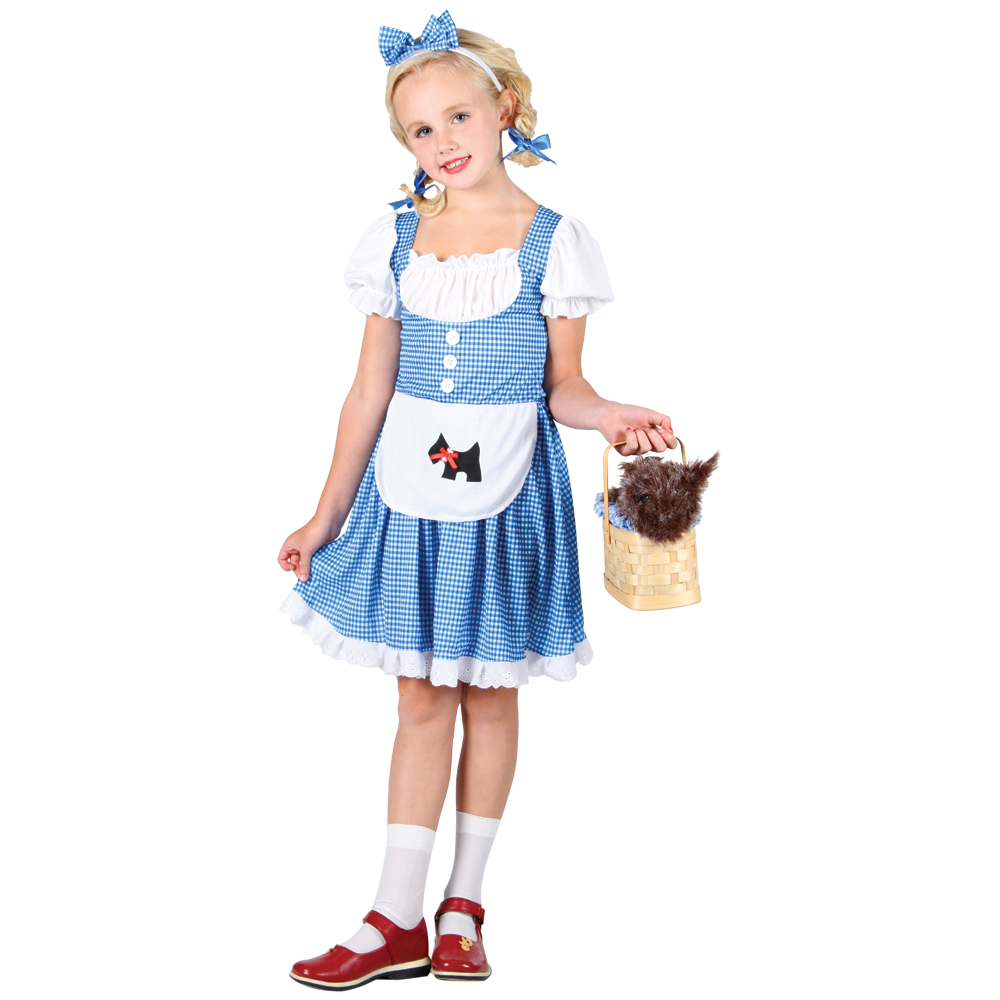 New-Dorothy-Wizard-of-OZ-Girls-Dress-Halloween-Costume
