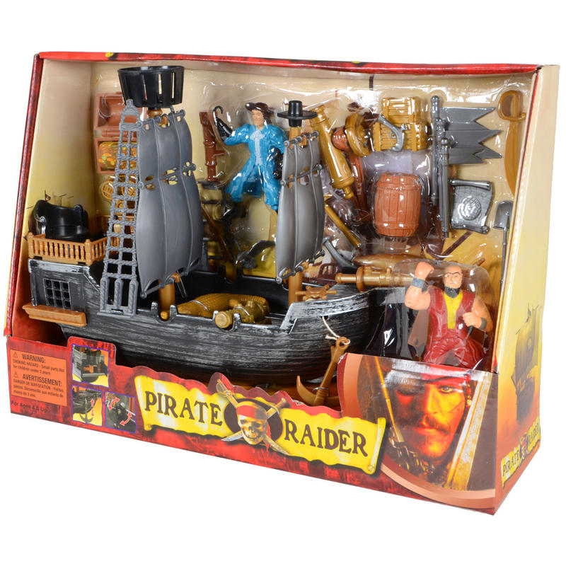 "29 Piece Pirate ""Pirate Raider"" Playset With Accessories ..."