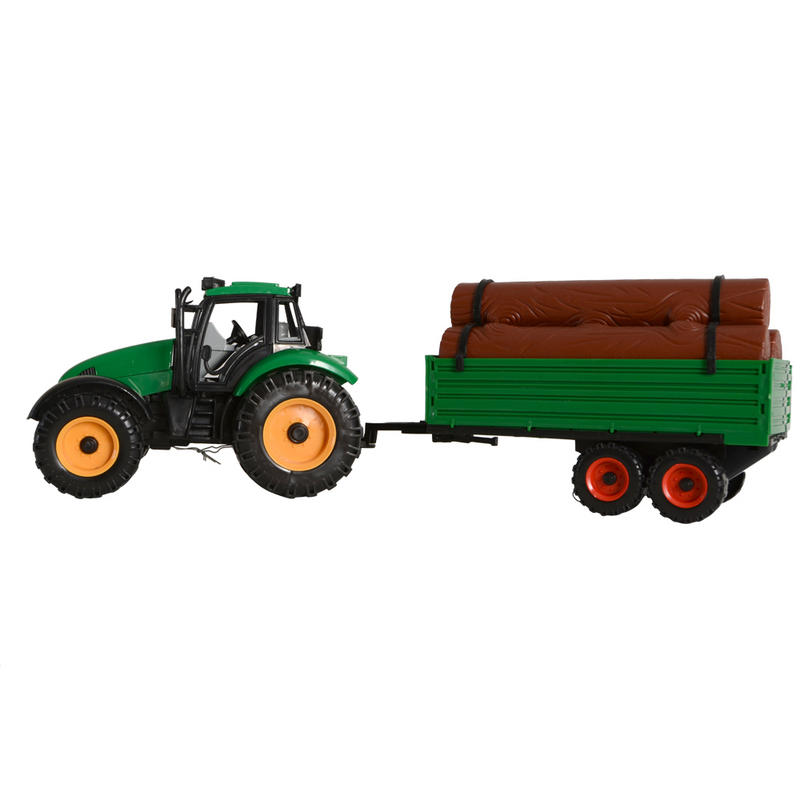 Tractor Toys For Boys : Boys toy farm chunky tractor detachable trailer friction