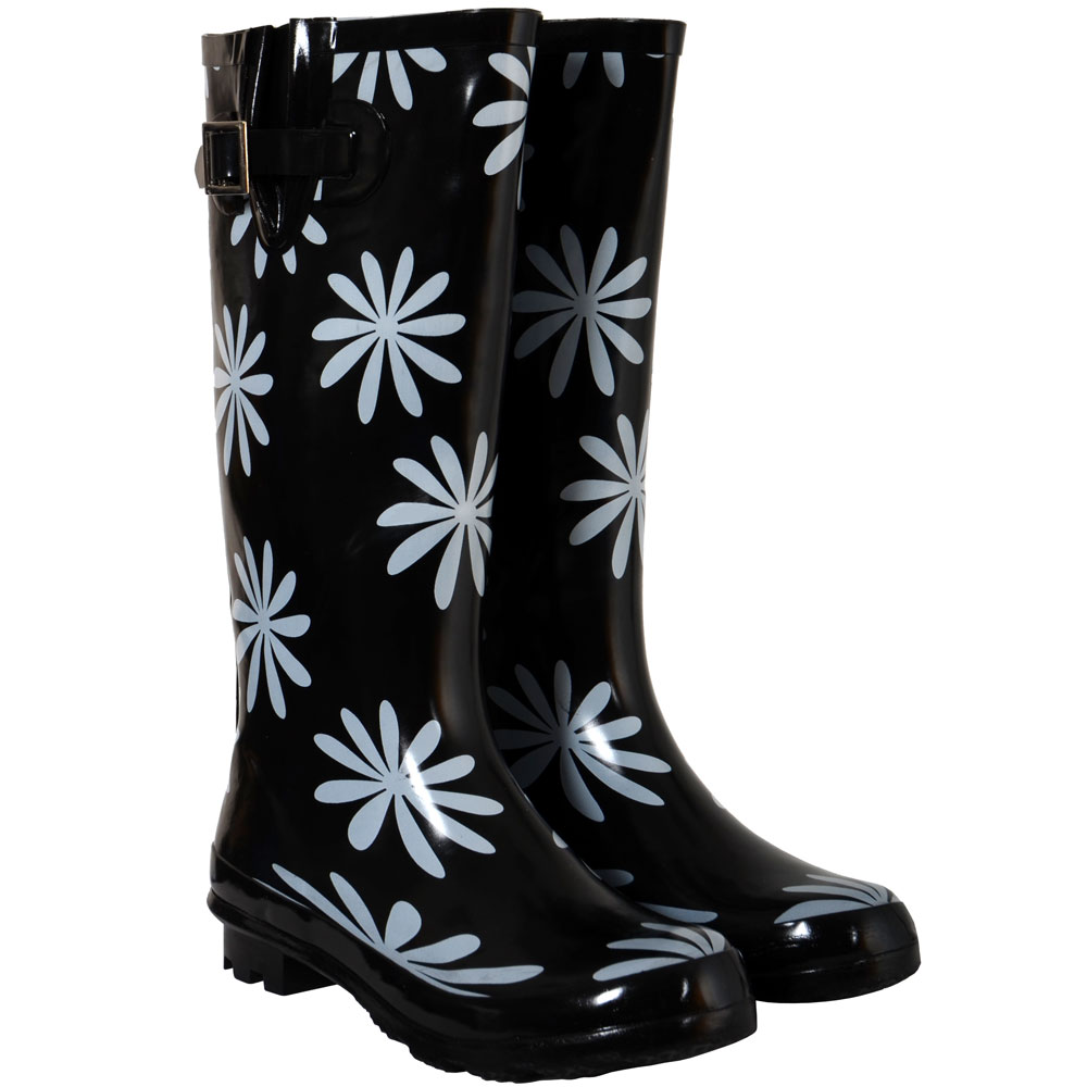 MEGA SALE Ladies Funky Festival Winter Wacky Wellies Wellington ...