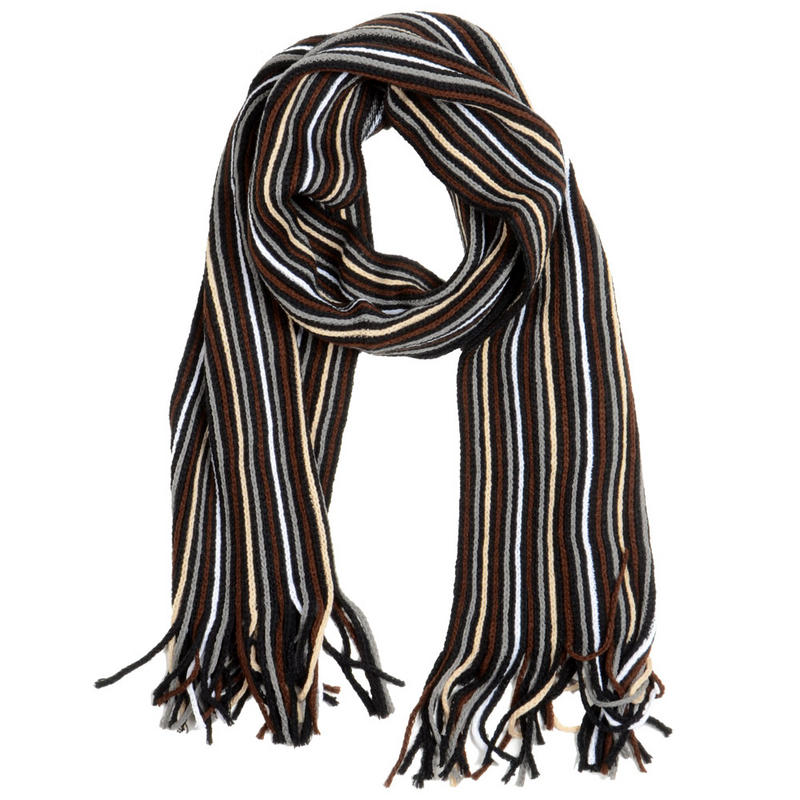 Additional Images Men's Knitted Winter Scarves