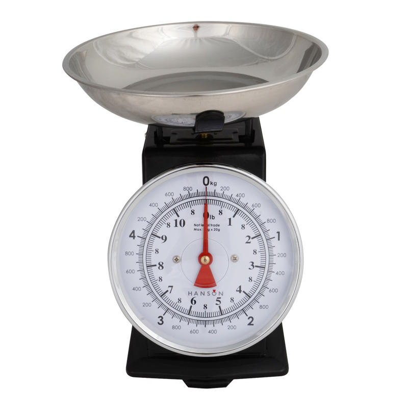 Hanson tradition 500 mechanical kitchen scale with manual for How much is a kitchen scale