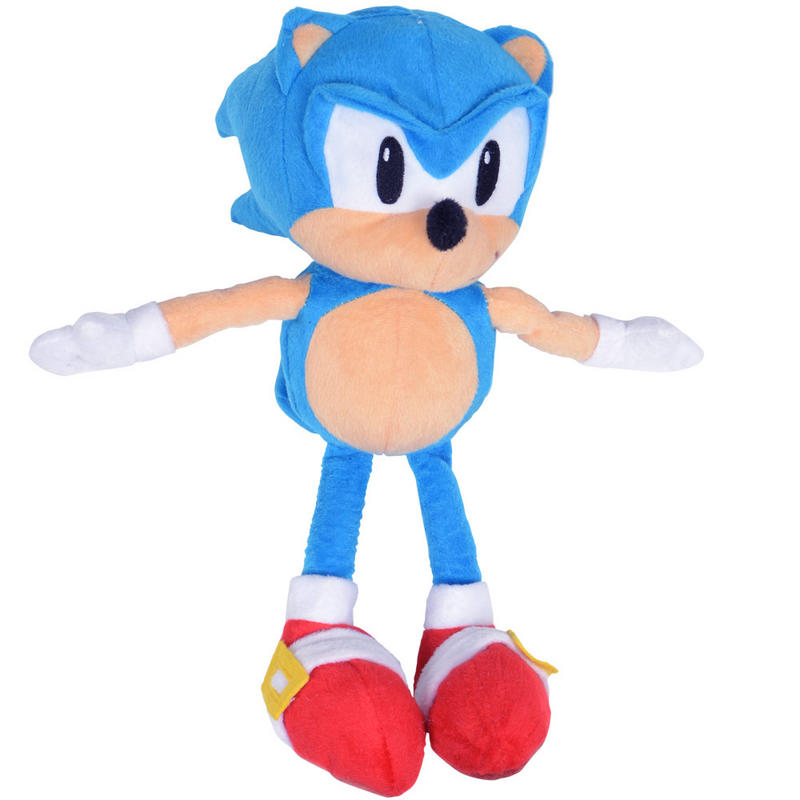 Sonic The Hedgehog Classic Sonic 12 Deluxe Plush TOMY - ToyWiz |Sonic The Hedgehog Plush Toys