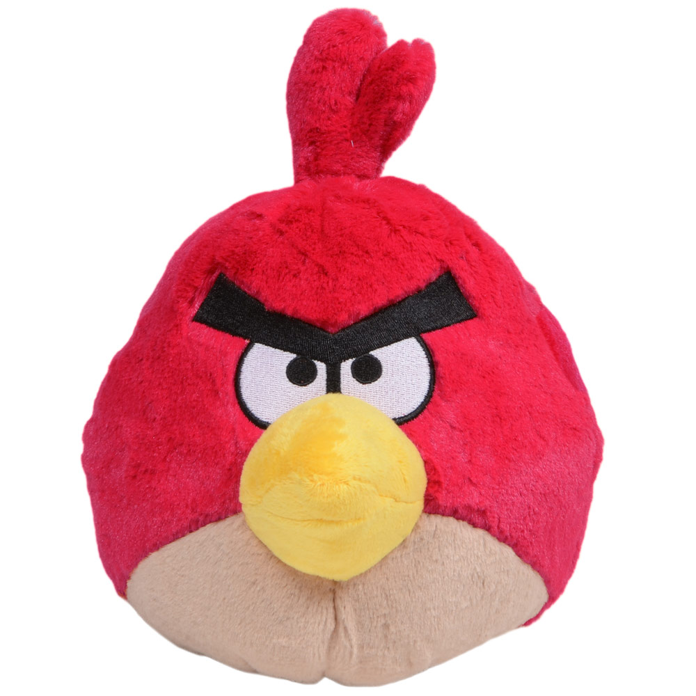 Angry birds 23cm 9 plush soft toy birds and pig character ebay - Angry birds toys ebay ...
