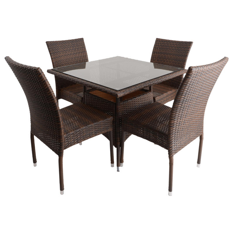 Dining Table 34 Inch Also Xs1318 Azuma 5pc Brittany All Wicker