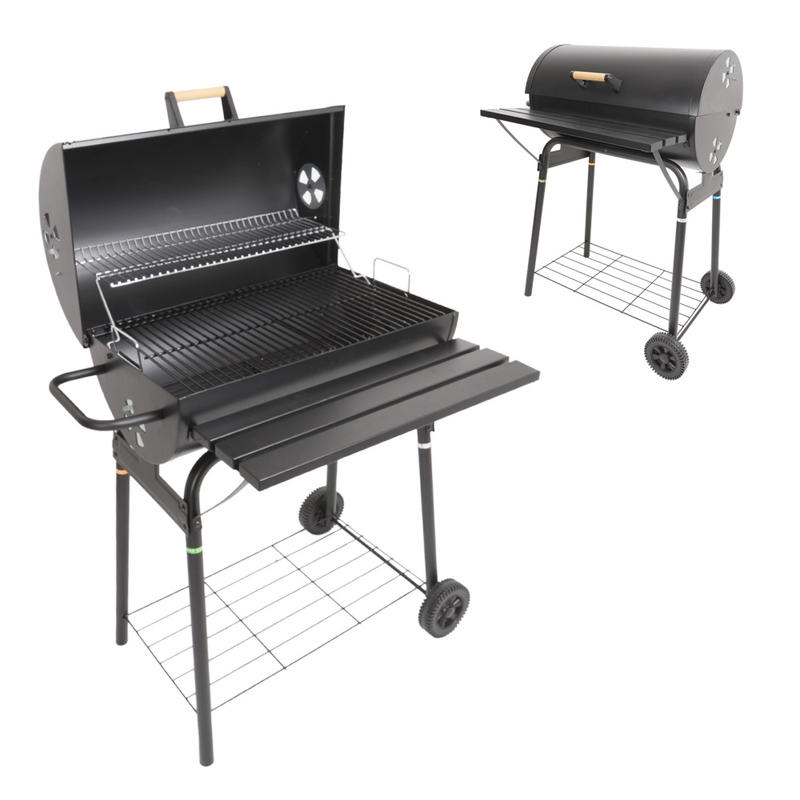 Best Seller of 2012 is Back Azuma Black Barrel Charcoal BBQ with Wheels