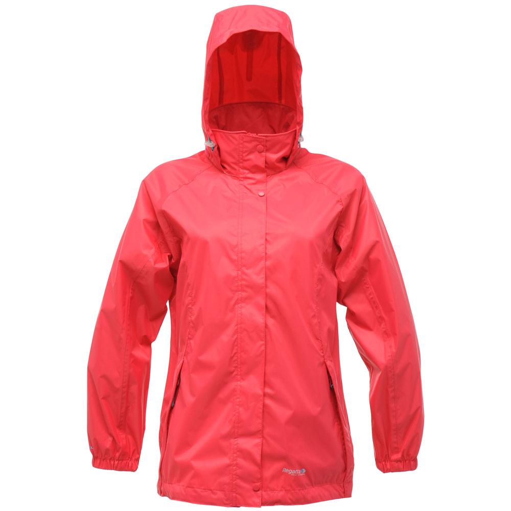 Regatta Ladies Joelle Lightweight Packaway Hooded Waterproof ...