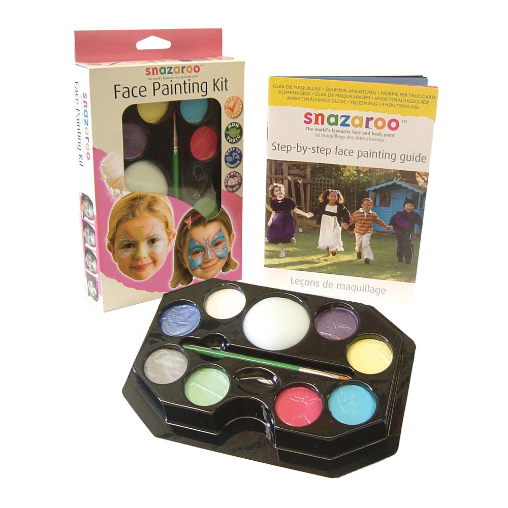 Girls Themed Fancy Dress Party Snazaroo Face Paint U0026 Makeup Kit