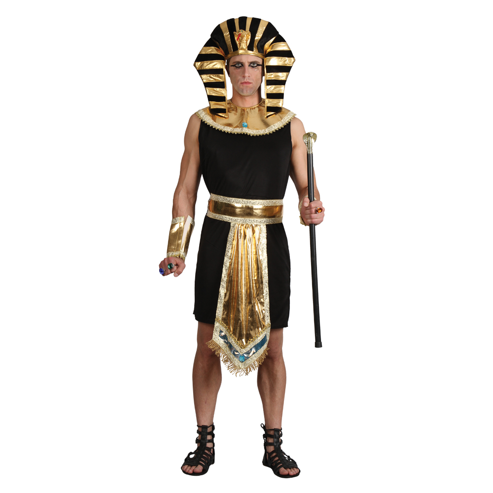 Egypt is a hot country and so people wore lightweight clothes which kept them cool. We can see what they wore from the many paintings and sculptures they left behind. Ancient Egyptian clothes covered most of their skin and were made from plant fibres such as linen.