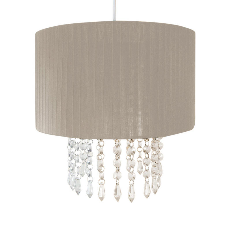 Easy Fit Chandelier Light Lamp Shade Fitting With Acrylic