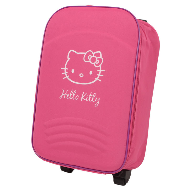 Hello Kitty Hot Pink Cute Roller Luggage Suitcase Summer Holiday ...