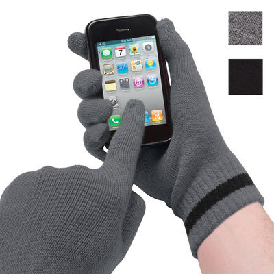 Mens Totes Isotoner SmarTouch Touchscreen Inter-woven Conductor Gloves