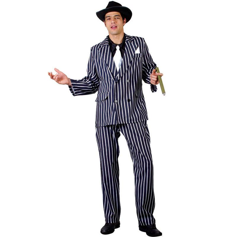 Mens Goodfellas Mafia Gangster Godfather Fancy Dress Halloween Costume