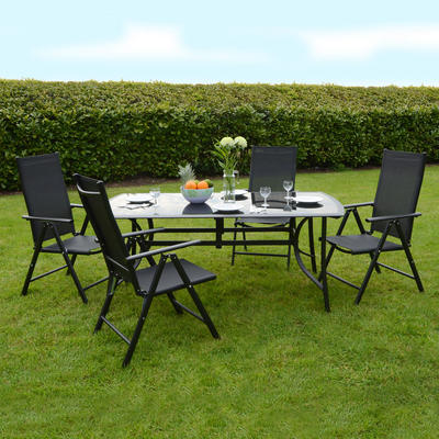 Online Dining Furniture on Top Table   Chairs Garden Outdoor Dining Furniture Set New Buy Online