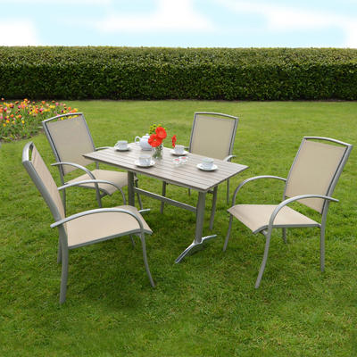 Online Dining Furniture on Table   Chairs Garden Outdoor Dining Furniture Set By Azuma Buy Online