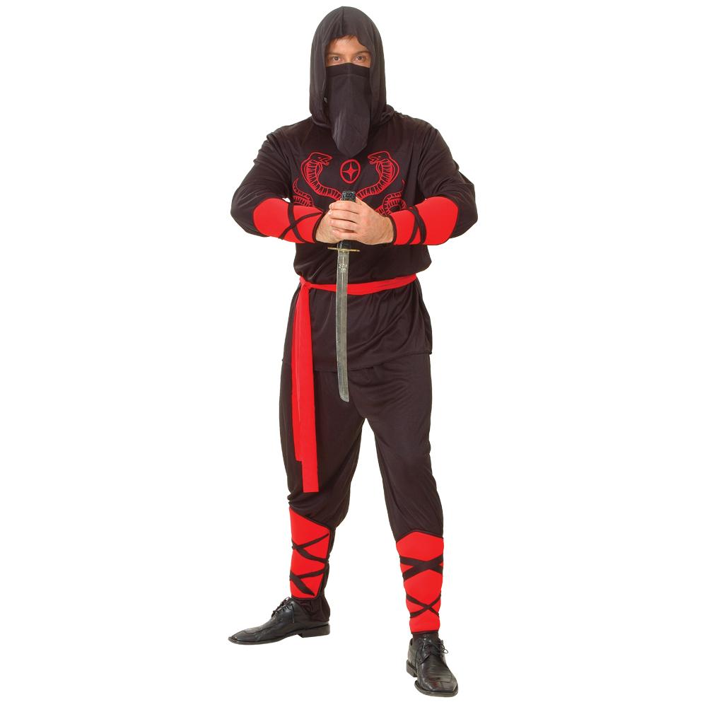 ninja krieger meister verkleidung m nner karneval fasching halloween kost m xl ebay. Black Bedroom Furniture Sets. Home Design Ideas