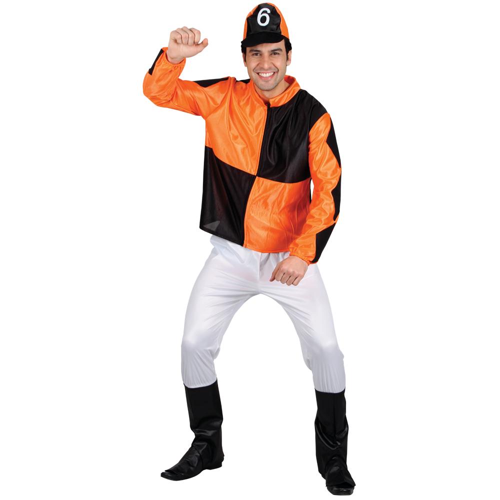 jockey reiter pferderennen maenner verkleidung halloween party karneval kostuem m ebay. Black Bedroom Furniture Sets. Home Design Ideas